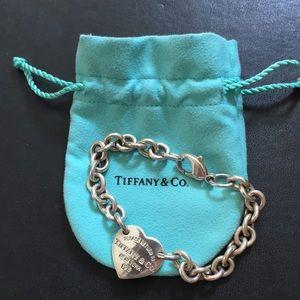 Tiffany Heart Tag Bracelet